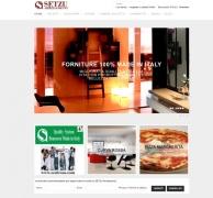 Un nuovo sito per Setzu Arredamenti